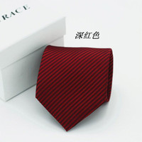 men's ties - wide cm neck tie necktie soid color men s stripe ties Pocket square cravat