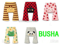 Wholesale Busha Pant Baby Pant toddler boy girl Short Leggings Tights PP pants cotton