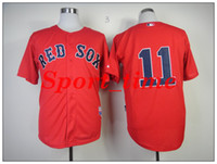 Men red clay - Top quality jerseys Rex Sox red stitched baseball jerseys Clay Buchholz World Series Red Jerseys hot sales sports jerseys