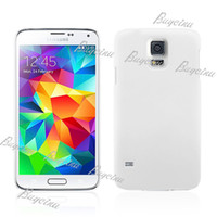 For Samsung Plastic No Case For Samsung Galaxy S5 i9600 protector Cover Case colors DHL FEDEX Free Shipping 50pcs up