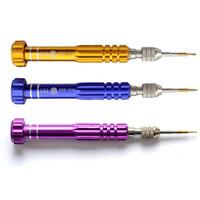 Wholesale Professioanl in Torx Precision Screw Driver Cell Phone Repair Tool Set Tweezers Mobile Kits BST