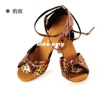 Wholesale 2013 Fashion Latin Dance Shoes Women s Ballroom Shoes cm Heels Satin soft bottom Latin dance EU Size