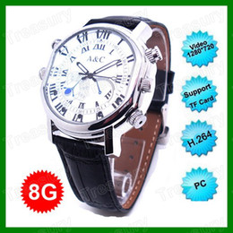 Wholesale H Video Codec HD P Waterproof Watch Camera GB Or GB H200A Hidden Mini Recorder