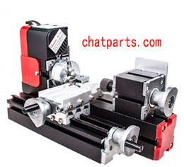 Wholesale CNC Mini Lathe Machine Metal Motorized with High Quality