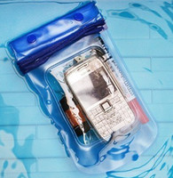Wholesale Promotion Clear Waterproof Pouch Bag Dry Case Cover For Cell Phone iphone5 Samsung s3