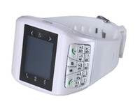Wholesale Unlocked Dual SIM Quadband Wrist Watch Mobile Cell Phone Camera GSM languages NEW