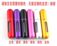 Wholesale 100pcs ml Refillable Perfume Atomizer Bottle for Travel Spray Scent Pump Case Dropshipping SKU M0283X