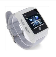 Wholesale H2 White Watch Mobile phone Camera with Bluetooth FM Touch Screen Cell Phone