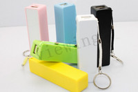 Wholesale Fragrance Power bank V A output mah Perfume smelling Power bank Powerbank with Key ring