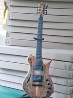 Wholesale New brand string electric guitar with spalted maple top venneer