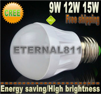 Wholesale 1PCS Energy saving High brightness LED bulb W W W V E27 E14 led lamp cold warm white smd led Light spotlight