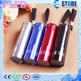 Wholesale Mini LED Flashlight Aluminium LED Torch Camping Torch Lighting with Batteries M