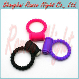 Wholesale Reusable Clit Vibrating Cock Ring Penis Rings Delay Ring Great Sex Toy for Male Adult Sex Products