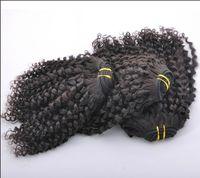 20% off ! Malaysian Virgin Hair Weft 5A Curly 100% Human 100...
