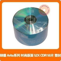 Wholesale Ritek ARITA CD R speed CD ROM blank discs to burn CD package