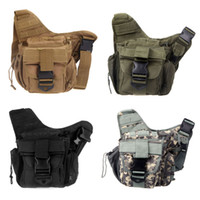 Wholesale Molle Tactical Shoulder Strap Bag Pouch Travel Backpack Camera Military Bag ACU New Outdoor Sports Bags H9767GR1