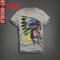 Wholesale 2014 Top quality hot sale Brand New mens T shirt Cotton Short Sleeve t shirt Tees T028