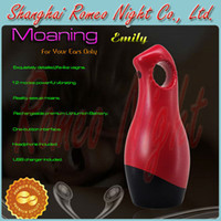 Realistic Vaginas Masturbators ABS+SEBS YouCups Moaning Grace,Reality Interactive Sexual Moans Massager,Tight Soft Jelly & Super Stretchy Masturbator. --Red.