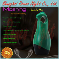 Realistic Vaginas Masturbators ABS+SEBS YouCups Moaning Grace,Reality Interactive Sexual Moans Massager,Tight Soft Jelly & Super Stretchy Masturbator. --Green.