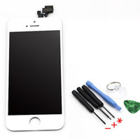 For Apple iPhone LCD Screen Panels Capacitive Screen For iphone 5G LCD Touch Screen Panel with Digitizer Assembly + Free Tools White Color for iPhone 5 White Replacement Repair Parts 1 piece