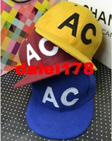 Ball Cap Black Baseball Caps Snapback 2013 Autumn and Winter Fashion Woolen AC Flat brim Cap Hiphop Skateboard Hats Baseball caps Men Women's Hip-hop Hat