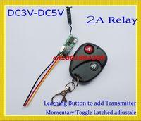 Wholesale Remote Control Switch DC3V V V V Mini Small Volume Remote ON OFF System MHZ A Relay Remote System