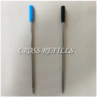 Wholesale Cheap CROSS Ballpoint Pen Refill Metal Black Blue Ink Gel Refills Without Package cm Length