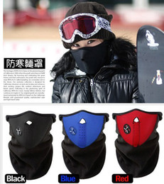 100pcs free shipping 100pcs lot Prepare cold winter wind protection face mask ski masks outdoor bicycle riding masks H167