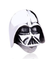 Wholesale Size Star Wars Darth Vader mask shape ring Jewelry High Quality L STAINLESS Steel