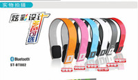 For Apple iPhone Bluetooth Headset 2 Wireless CSR 3.0 Bluetooth headphone headset BH-02 Stereo Handsfree MP3 Music for iPhone Samsung HTC and other bluetooth device