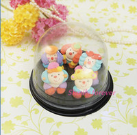 Wholesale Clear Plastic Cupcake Dome Favour Gift Boxes Container Wedding Party Box