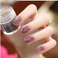 Pinks Nail Polish Gradient A mix of caviar caviar bk nail polish effect nail supplies glass beads 12 colors 10g bottle