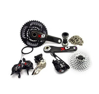 sram red - Sram x0 s s GXP groupset mtb bicycle groupsets silver and red
