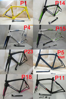 carbon road bicycle - Carbon Road Bike Frame Asymmetrical DOMGA65 Think Full carbon fiber road bicycle frames with Fork Seatpost Clamp Headsets
