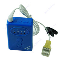 S18901   Blue Adult Baby Bedwetting Enuresis Urine Bed Wetting Alarm+Sensor With Clamp Free Shipping
