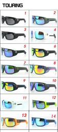 Wholesale 2014 SPY touring sunglasses de alta calidad hombres deportes gafas de sol touring gafas de ciclismo gafas para ciclista
