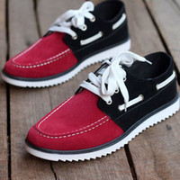 Wholesale 2014 hot Peas shoes lacing spell color Scrubs casual shoes men sneaker athletic men s sneakers boat shoes