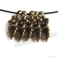 Wholesale 240pcs Bronze Leaves amp Flowers Charms Zinc Alloy Pendants Accessories Jewelry Findings mm
