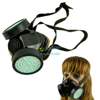 Wholesale PVC Carbon Spray Respirator Gas Safety Anti Dust Chemical Paint Spray Mask TK0669