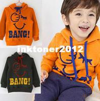Wholesale BEST SELLER new baby boy Autumn sweater kids hoodies design winter wear Children Tops clothing C033