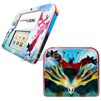 Wholesale popular decals skins for DS stickers vinyl PVC material for nintendo ds