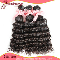 Dyeable Natural Color 100% Peruvian Virgin Hair Extension UN...