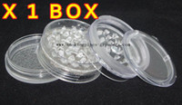 Wholesale 12pcs piece big Acrylic grinder with screens mix color mm dia size