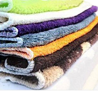 Wholesale New Dish Towel Wood fiber non stick oil Kitchen Towel Super Soft cm Multi Purpose Pratical Towel scouring pad