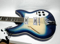 Wholesale Custom Strings Electric Guitars Blue burst Chinese guitar New Style