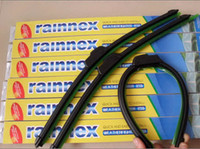 Wholesale Car windshield wiper black silicone Bracketless soft Wiper Blade Windscreen Wiper available sizes