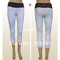 Wholesale Discounted Lululemon Women s Astro Wunder Under Crops Lulu lemon Yoga Crop Capri Pants Short Suit for Women Size