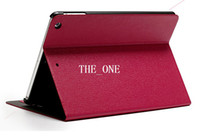 Wholesale Oracle Bone Style Retro Flip Folio Leather folding book stand ipad air smart case cover with Credit Card Holder for Ipad Air
