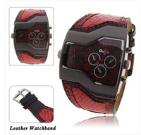Wholesale colors classic fashion quartz mens watch luxury watches leather watch band in stock now