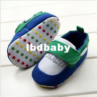 Wholesale 2014 pairs Nice Velcro Tassels Shoelace Decoration Green and Red Color Baby Shoes Girls Boys Cute Colored Star infant Footwear
